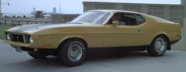 Original 1971 Mustang Sportsroof (customized as 1973) Eleanor from the original 1974 Gone in 60 Seconds movie.