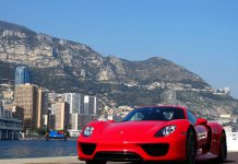 Stunning Red Porsche 918 Spyder Photoshoot in Monaco!