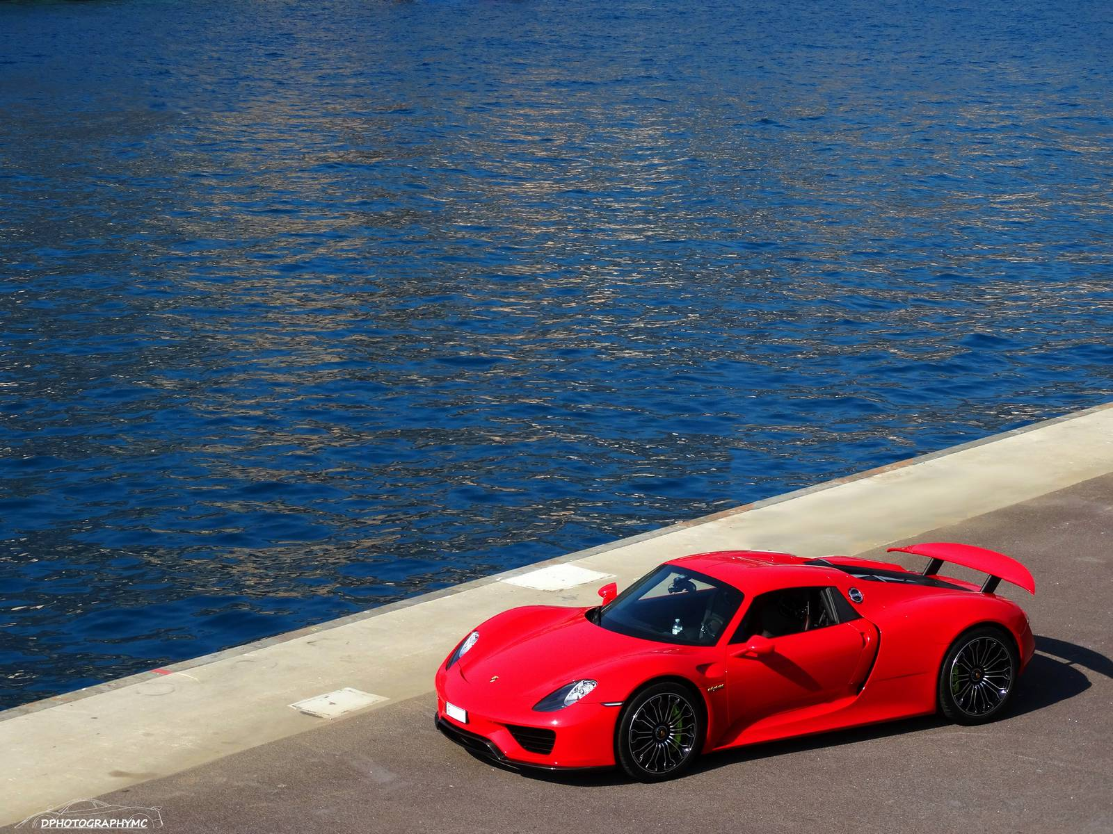 Stunning Red Porsche 918 Spyder Photoshoot In Monaco