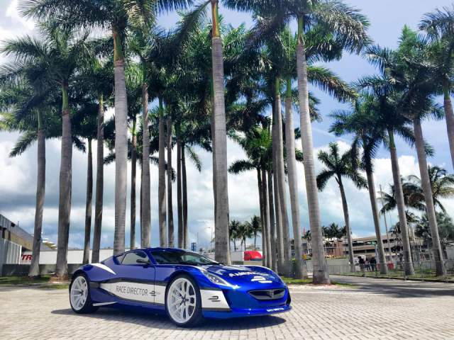 2015 Rimac Concept One Formula E Race Director