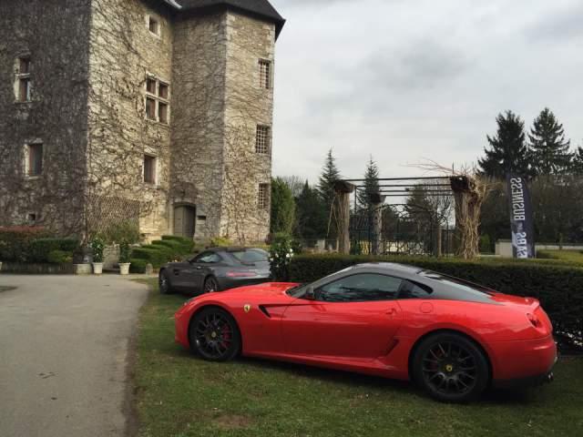 Valet Wrecks Ferrari 599 GTB in Rome