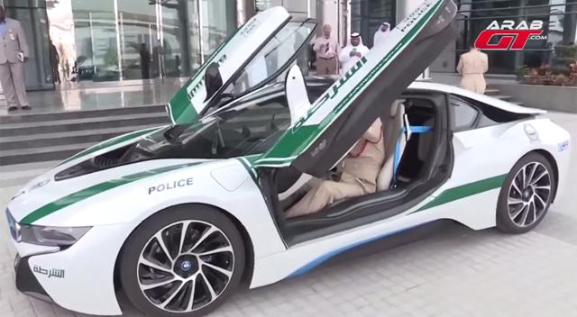Dubai Police Take Delivery Of Bmw I8 Gtspirit
