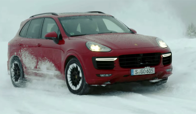 Video: Walter Röhrl Slides Porsche Cayenne GTS and Turbo S on Ice ...