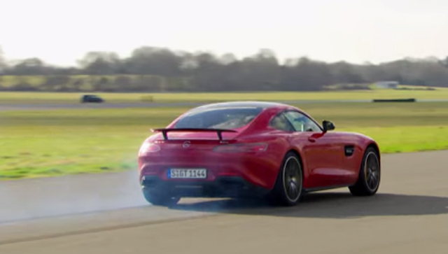 Video Mercedes Amg Gt S Sets Impressive Top Gear Lap