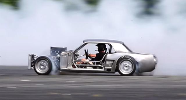 Ken Block Mustang >> Video Ken Block Testing His Insane Hoonicorn Mustang