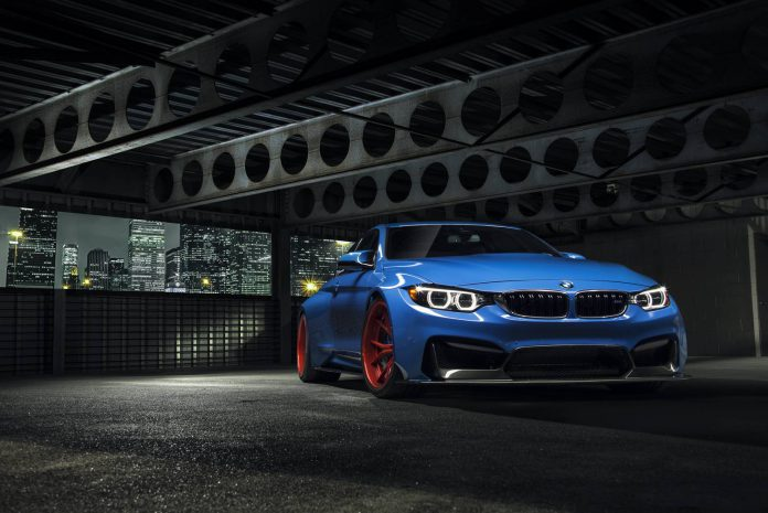 Vorsteiner Reveals New Yas Marina Blue BMW M4 GTRS4
