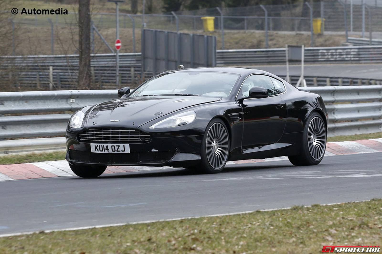 next aston martin db9 likely getting turbocharged v12 gtspirit. Black Bedroom Furniture Sets. Home Design Ideas