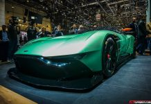 Aston Martin Vulcan at the Geneva Motor Show 2015
