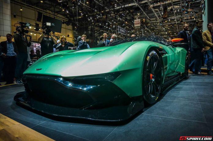 Aston Martin Vulcan at the Geneva Motor Show 2015