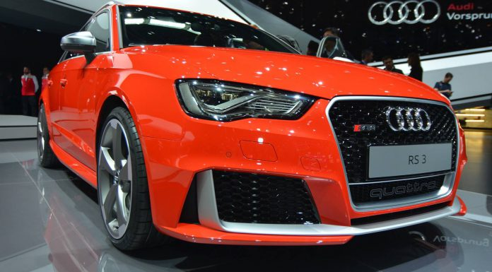 Audi RS3 Sportback at the Geneva Motor Show 2015