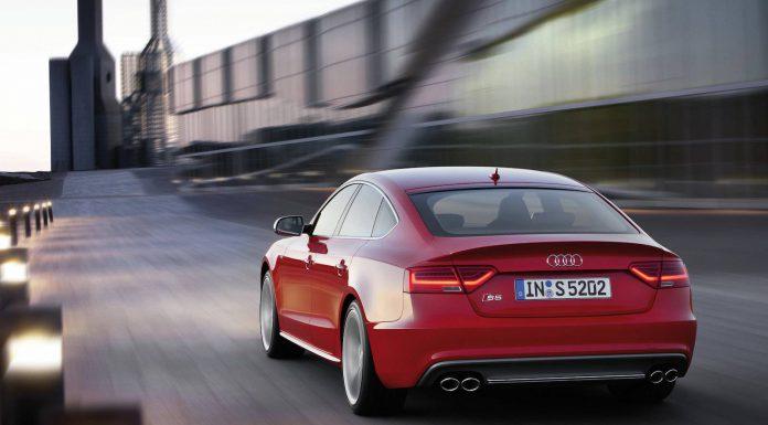 Audi S5 Sportback Rear Angle