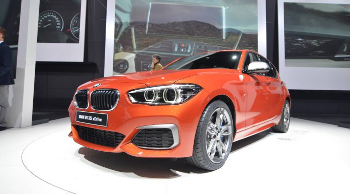 Geneva 2015: BMW 1-Series Facelift