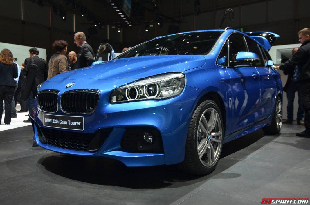 Geneva 2015: BMW 2-Series Gran Tourer