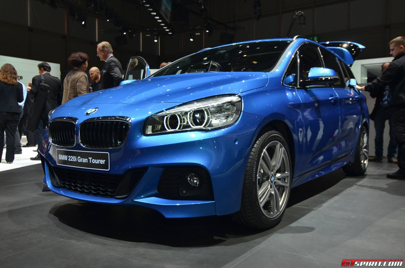 geneva 2015 bmw 2 series grand tourer. Black Bedroom Furniture Sets. Home Design Ideas