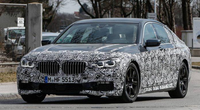 2017 BMW 7-Series M-Package Spy Shots in Munich