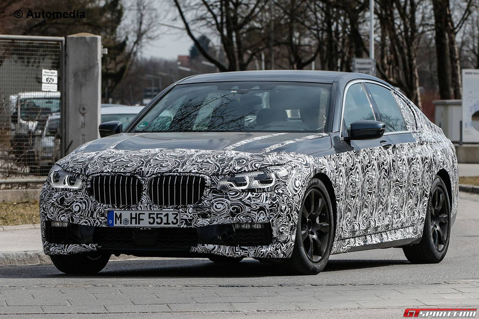 2017 bmw 7 series m package spy shots in munich gtspirit. Black Bedroom Furniture Sets. Home Design Ideas