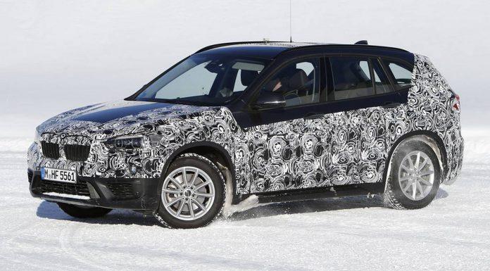 2016 BMW X1 Cold Winter Test Spy Shots in Scandinavia