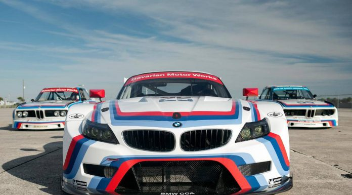 2015 BMW Z4 GTLM Revealed with CSL Homage Livery