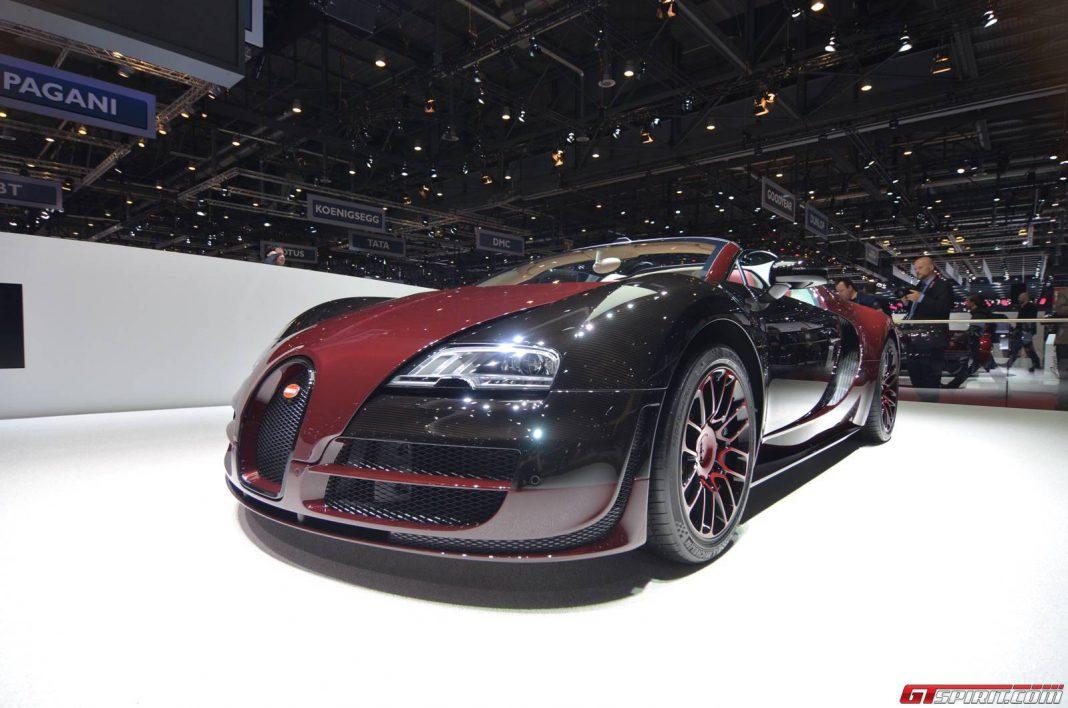 Bugatti Veyron Grand Sport Vitesse La Finale at the Geneva Motor Show 2015