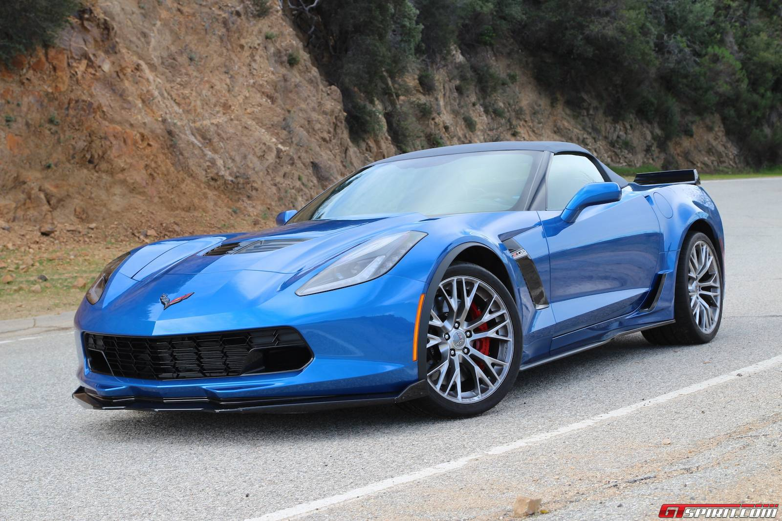 2015 Chevrolet Corvette Z06 Convertible Review Gtspirit