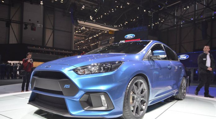Ford Focus RS at the Geneva Motor Show 2015