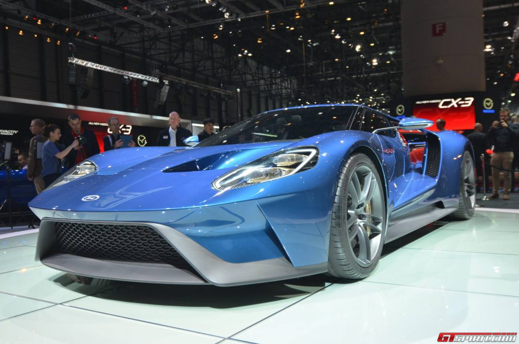 Ford GT at the Geneva Motor Show 2015