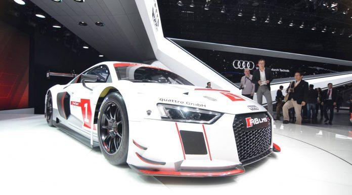 Audi R8 LMS Front