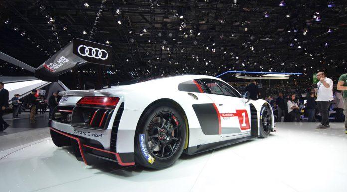 Audi R8 LMS Rear