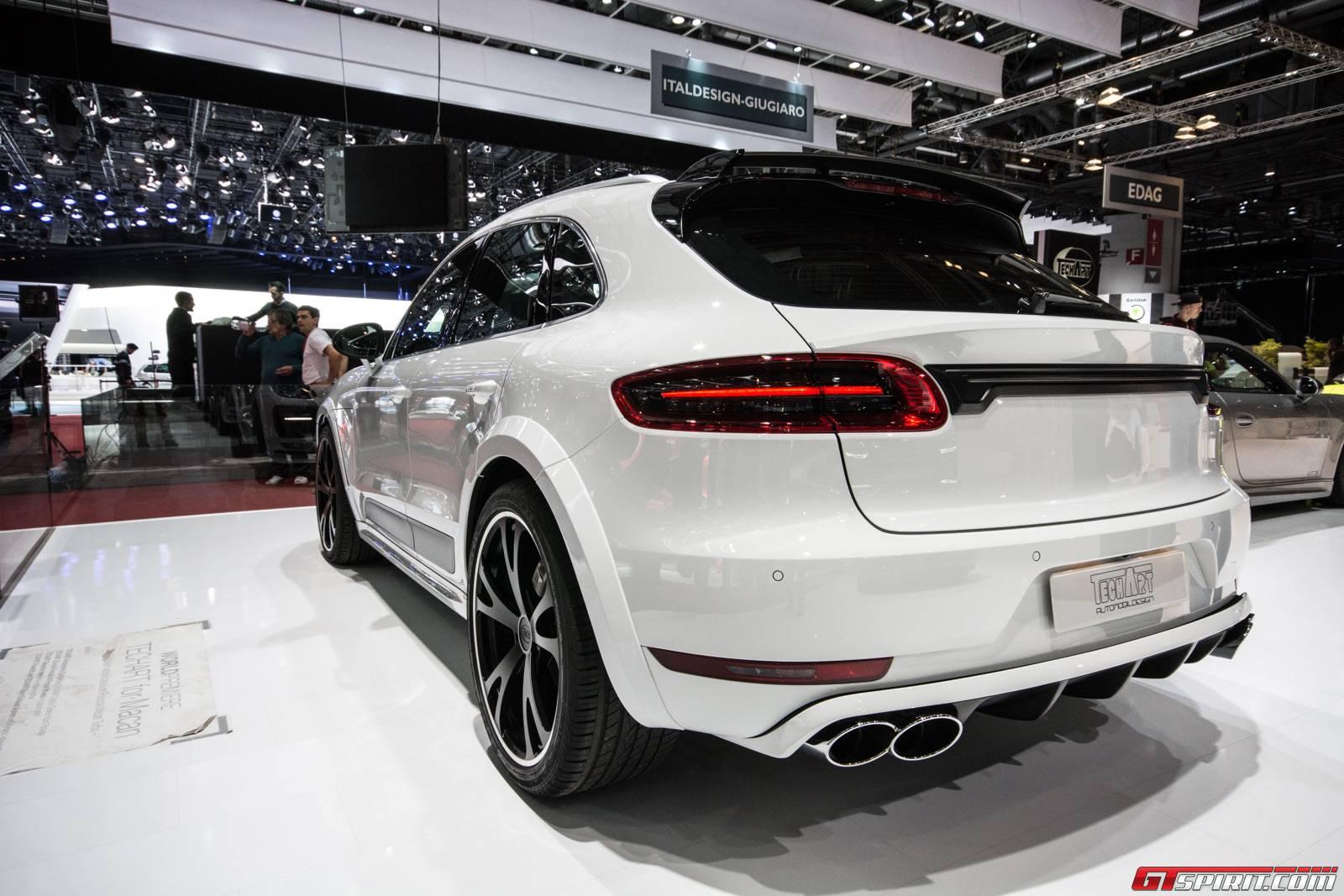 Geneva 2015 Techart Porsche Macan Gtspirit