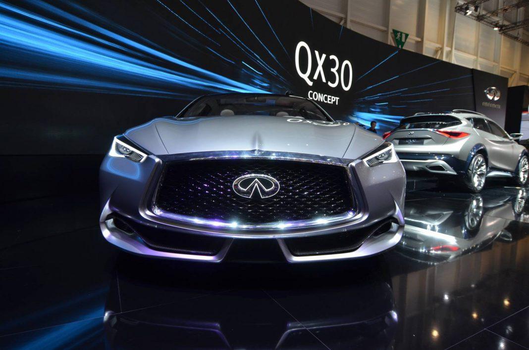 Infinity Q60 front