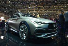 Geneva 2015: Infiniti QX30 Concept