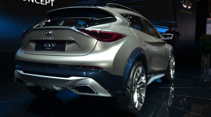 Infiniti QX30 Concept Rear