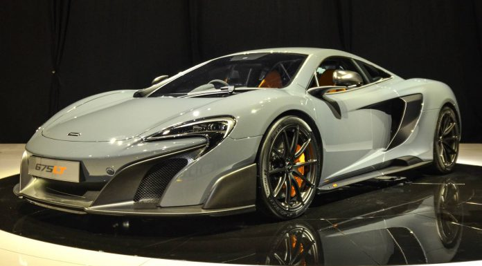 McLaren 675 LT at the Geneva Motor Show 2015