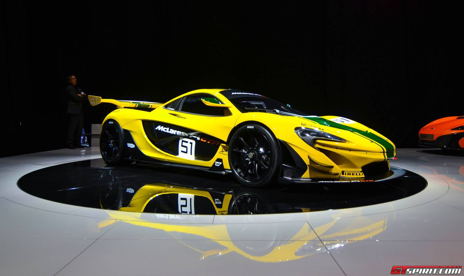 Video Chris Goodwin Talks About The McLaren P1 GTR GTspirit