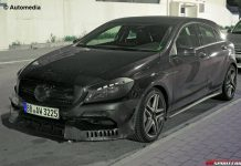 First Spy Shots of the Mercedes-Benz A45 AMG Facelift