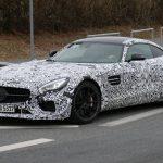 Mercedes-AMG GT3 Road Car Nurburgring Spy Shots