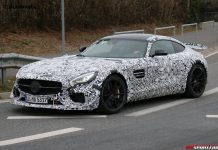 Mercedes-AMG GT3 Road Car Nurburgring Spy Shots