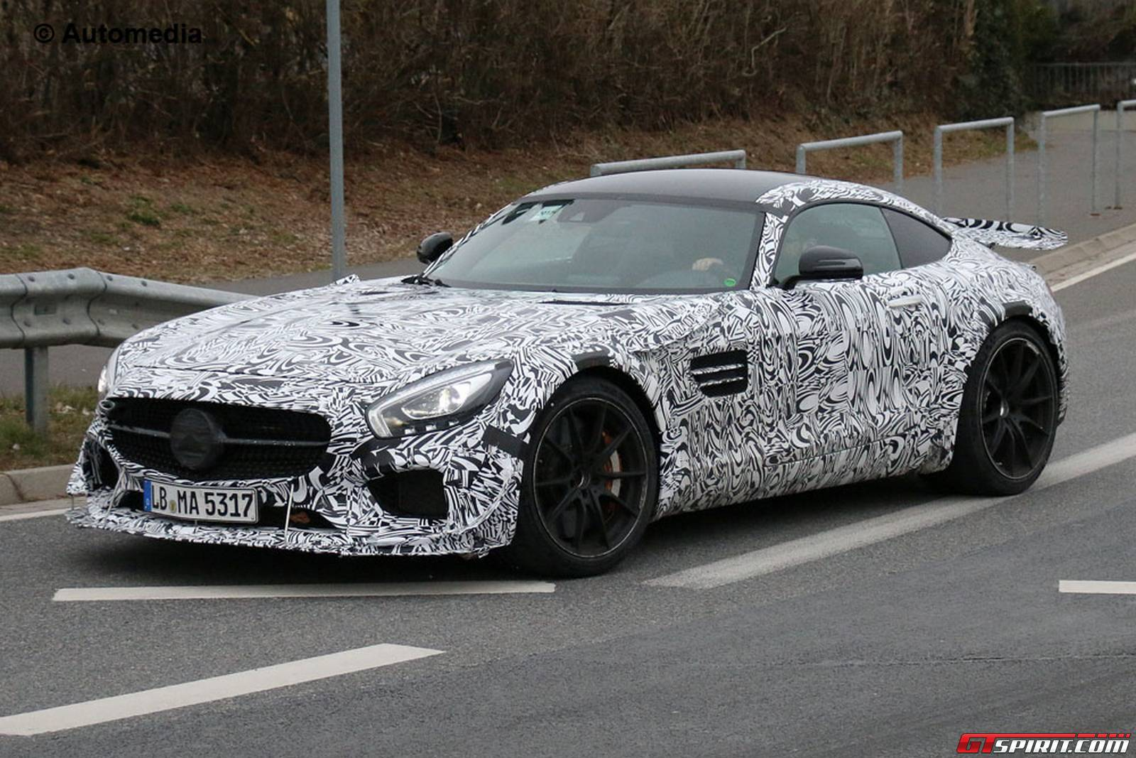 Mercedes Amg Gt3 Road Car Nurburgring Spy Shots