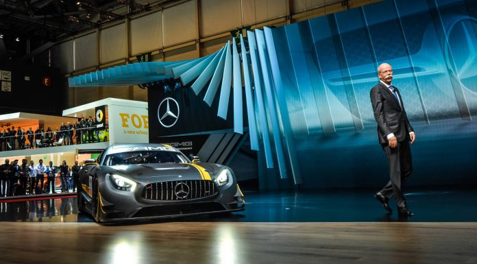 Mercedes-AMG GT3 at the Geneva Motor Show 2015