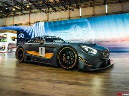 Mercedes-AMG GT3 at the Geneva Motor Show 2015