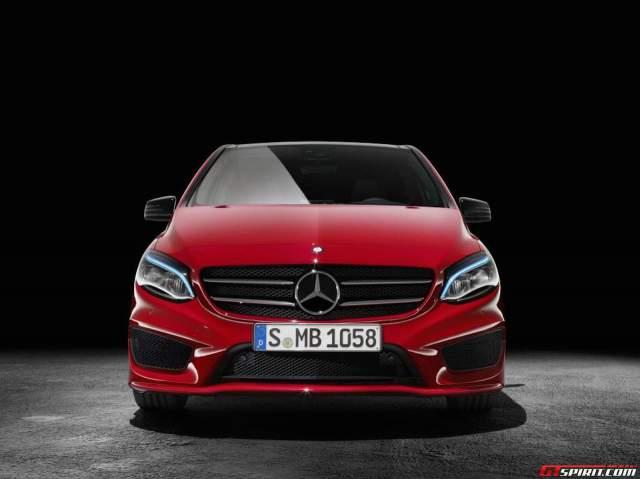 Mercedes-Benz B-Class Facelift front