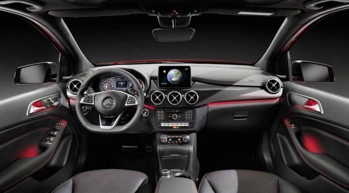 Mercedes-Benz B-Class Facelift interior