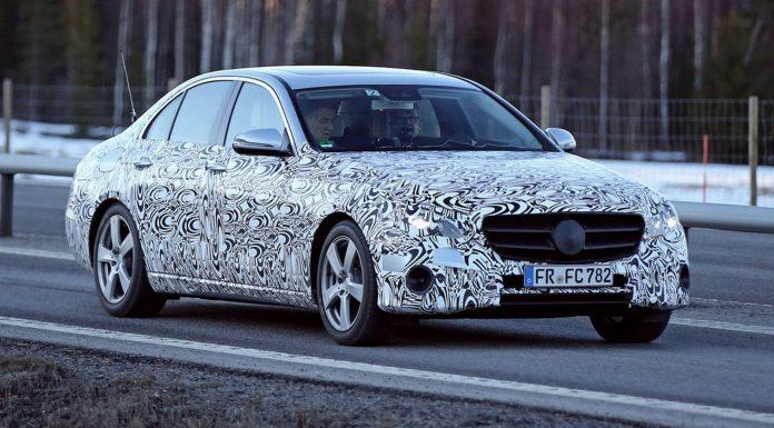 Next-Gen Mercedes-Benz E Class Sheds Camo in New Spy Shots