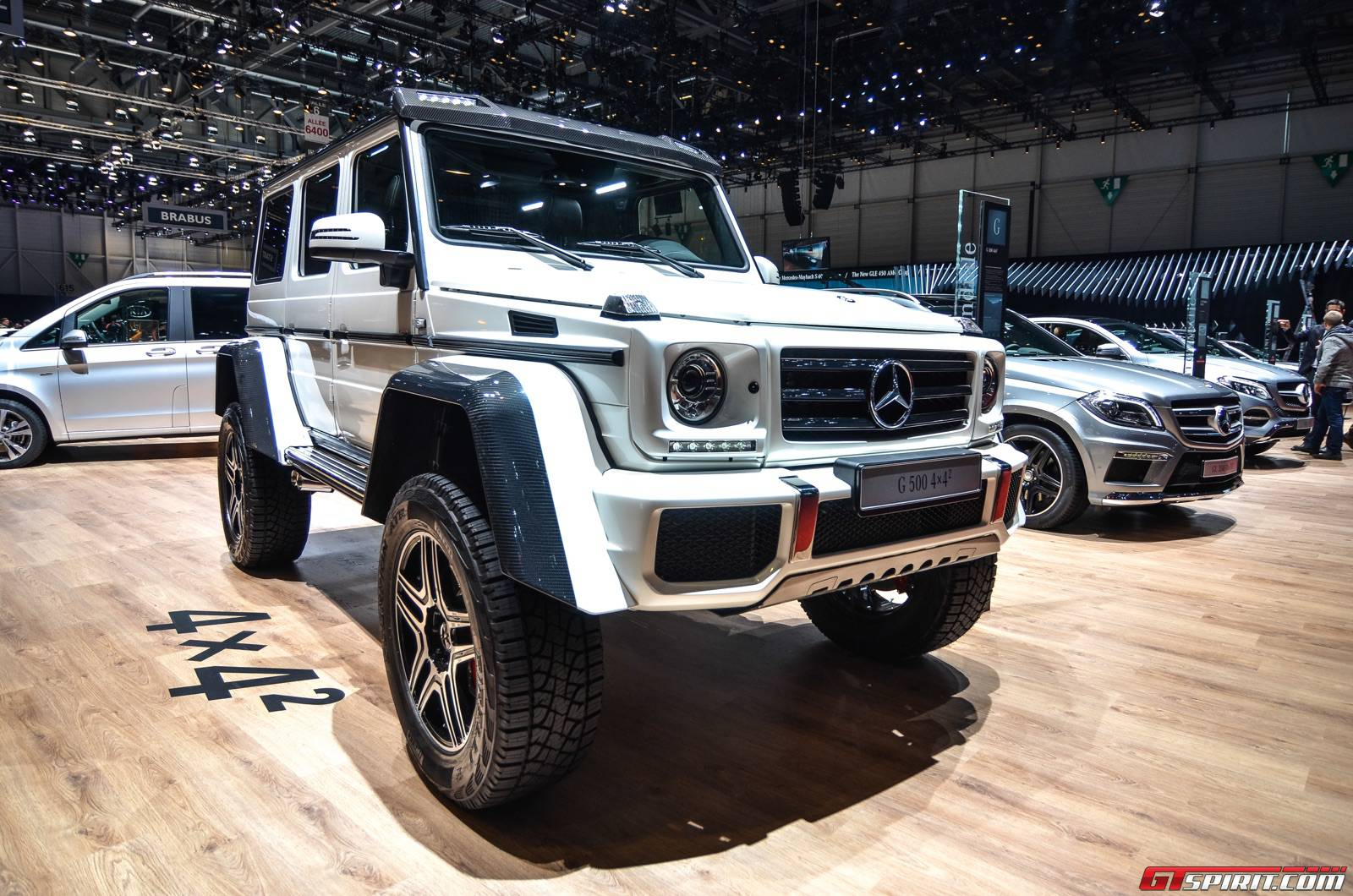 Geneva 2015 mercedes benz g 500 4 4 gtspirit for Mercedes benz 4 4