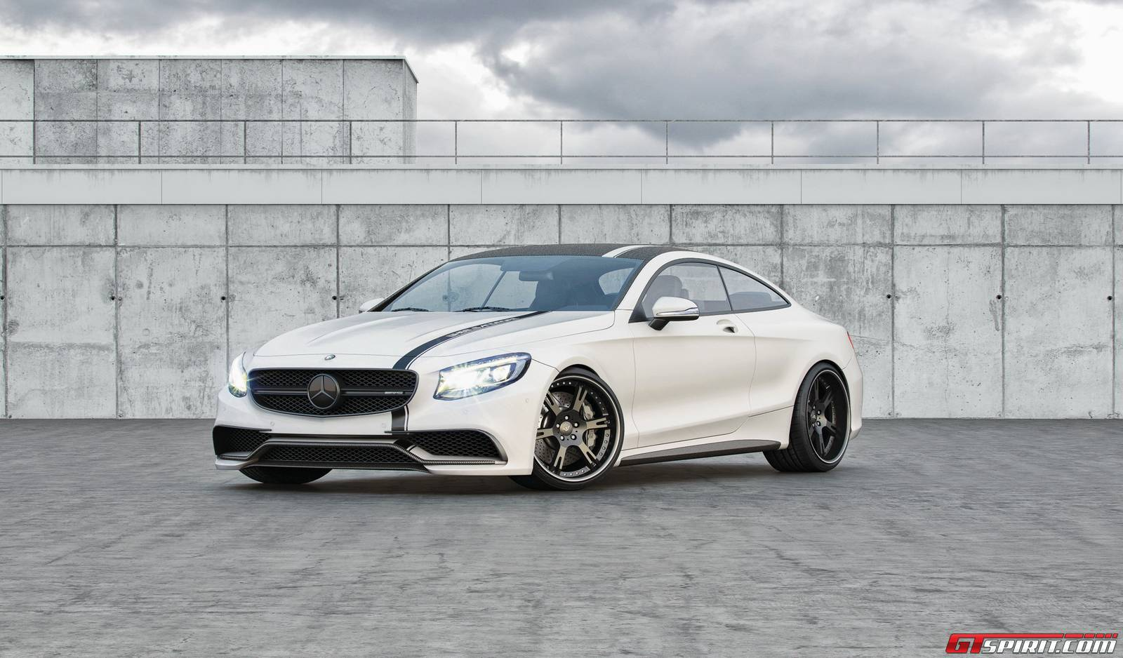 701hp mercedes benz s63 amg coupe by renntech gtspirit for Mercedes benz amg s63
