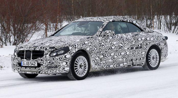 Mercedes-Benz C-Class Cabriolet Spy Shots