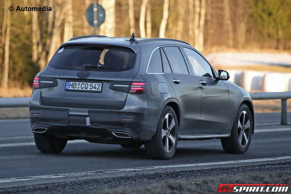 new mercedes benz glc spy shots before launch gtspirit. Black Bedroom Furniture Sets. Home Design Ideas