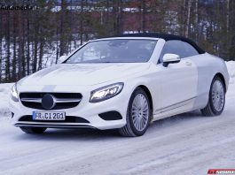 Mercedes-Benz S-Class Cabriolet Revealed in New Spy Shots