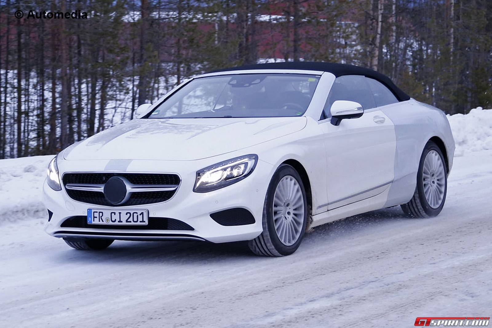 Mercedes benz s class cabriolet revealed in new spy shots for New mercedes benz s class 2015