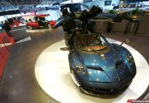 Pagani Huayra at the Geneva Motor Show 2015